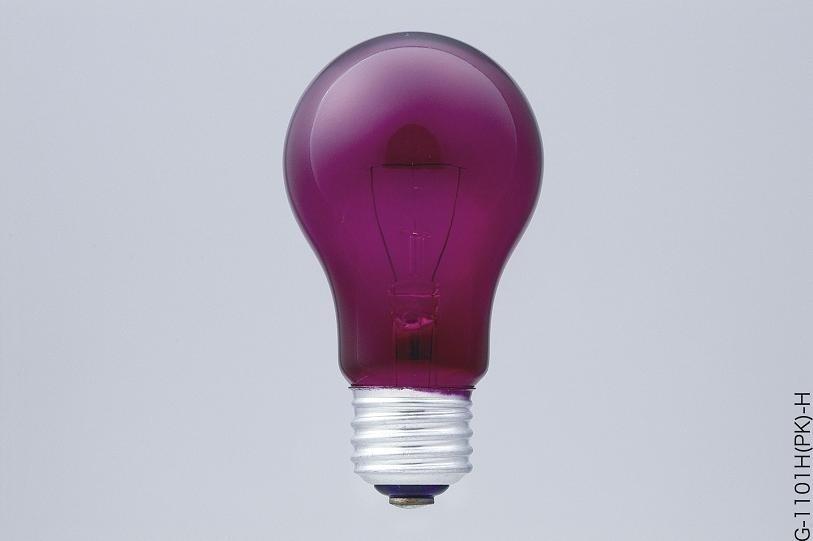 【クリックでお店のこの商品のページへ】ELPA カラー電球 G-1101H(PK)