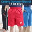 [Calista 1st Retail] Celana pendek rumahan / santai / outdoor / sport / Top 14 Models / 50+ colors