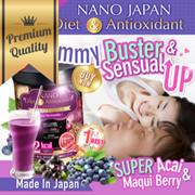 [LAST DAY $31.90ea! FREE* SHIP!] ♥BURN-FATS ACAI ♥C++ CUP BUST LIFT-UP MAQUI ♥NANO DIET SLIMMING