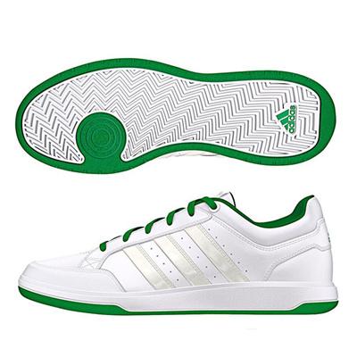 アディダス (adidas) oracle VI STR PU(ランニングホワイト×チョークホワイト×グリーン) S41857 [分類:メンズファッション スニーカー ローカット]の画像