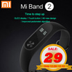 ★12.12★ Xiaomi MiBand 2 Mi Band 2 OLED display|Touch button|All-new design|Improved pedometer algorithm [Warranty for free]