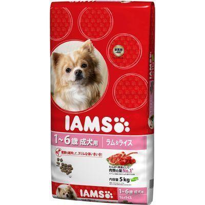 マースジャパンリミテッド アイムス 成犬用 健康維持用 ラム&ライス 小粒 5kg E331032H