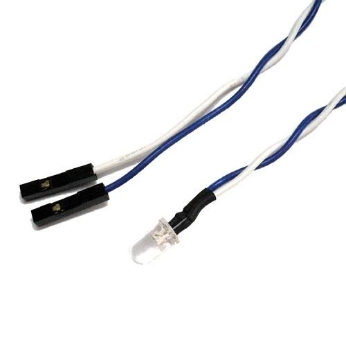 Qoo10【国内無料発送】【半額】青色LEDケーブル【LED-BL】