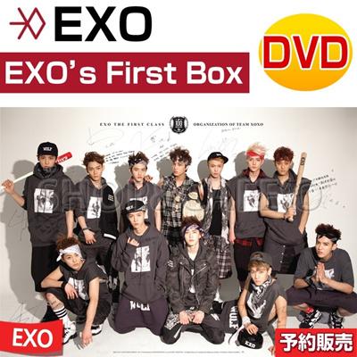 【翌日国内発送★送料無料】EXO(エクソ) - EXO's First Box (4DVD+イヤホンEarphone winder) [DVD] EXO - EXO`s First Box(コード:ALL)の画像