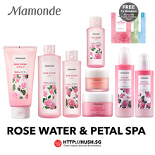 Mamonde Rose Water Toner Soothing Gel Rose Petal Spa Cleansing Oil Oil to Foam and Cleansing Balm