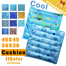 Cool Summer Solution▶Watering Cool Cushion Mattress◀GDB GEC-Ice mattress for chair n sofa/ Durable Double Layer/ Suitable for Car、Office、Home Sofa n chair