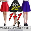 [1+1 SUPER SALE] KOREAN STYLE ★ Super Thick WEDGES Spandex SKIRT Collection / Made in Korea / Celebrity Style / High quality / Office Look / Ready Stock