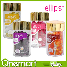 [ELLIPS] Hair Vitamin 50s Hair Treatment/Smooth and Shiny/Nutri Color/Hair Vitality