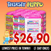 [RB] 【FREE GIFTS!!!】Thirsty Hippo Value Pack - Bundle of 24! Last up to 4 weeks