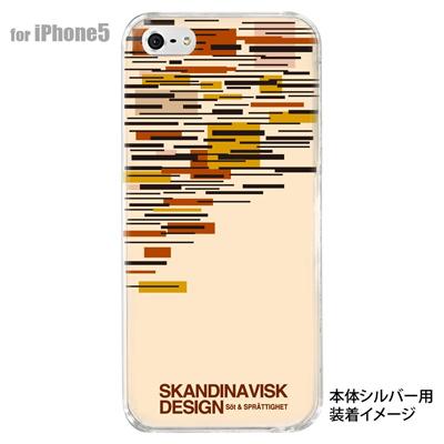 【iPhone5S】【iPhone5】【Clear Fashion】【iPhone5ケース】【カバー】【スマホケース】【クリアケース】【フラワー】【北欧デザイン】 10-ip5-skv-03の画像