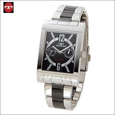 【クリックでお店のこの商品のページへ】テクノス TECHNOS マルチファンクション 腕時計 T2046TB