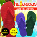 [5th Restocked]New Color Added Havaianas TOP Filp flop 100% Authentic Local Free Shipping