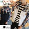 マウンテンパーカー メンズ パーカー ジップアップパーカー 長袖 カジュアル ミリタリー カモフラ メンズファッション