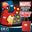 [香港美心月饼] HK Meixin Limited Edition MARVELMooncakes [Set of 2 Tins - Ironman + Spiderman]