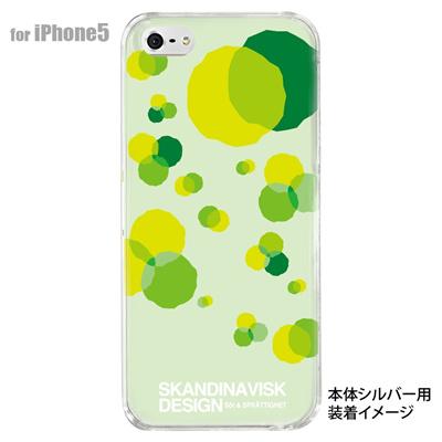 【iPhone5S】【iPhone5】【Clear Fashion】【iPhone5ケース】【カバー】【スマホケース】【クリアケース】【フラワー】【北欧デザイン】 10-ip5-skv-07の画像