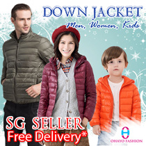 【Ultra Light Down】Foldable Down Jacket / Winter Jacket/ Jacket Women / Winter Wear/ Hoodie Jacket