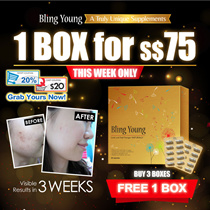 💗 $10 COUPON + 10% STOREWIDE! 💗 HK SELLING NO.1 BLING YOUNG SUPPLEMENT♥BRIGHTEN AND BALANCE SKIN