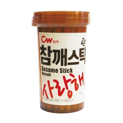 『CW』ごまスティック(85g)海藻カルシウム含有[セサミ][スナック][ビスケット][ヘルシー][韓国お菓子][韓国食品]の画像