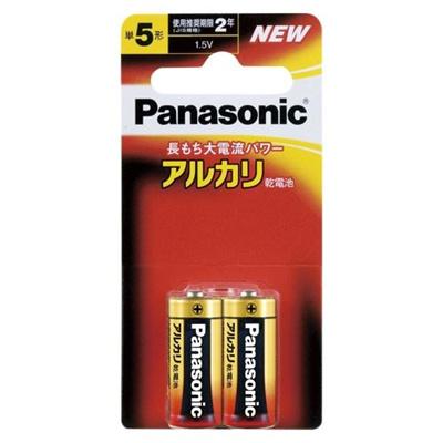 【メール便発送】パナソニックアルカリ電池単52個ミニブリスターLR1XJ/2B00059923