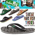[sanuk]sanuk male or female Flip Flop All Flat Price! Free Shipping S ummer Sadals Slippers