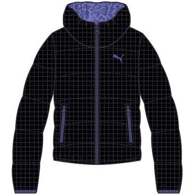 プーマ(PUMA) LITE リバーシブルダウンジャケット 831021 01 ブラック 【レディース トレーニングウェア ランニング ブレーカー 防寒】の画像