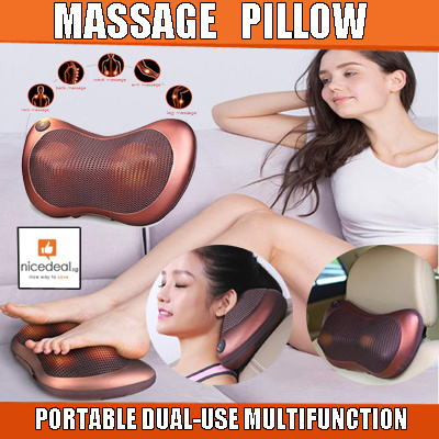 ?Car/Home Infrared Light Body Massager Pillow Cushion/Shiatsu Massager Knead Rotation