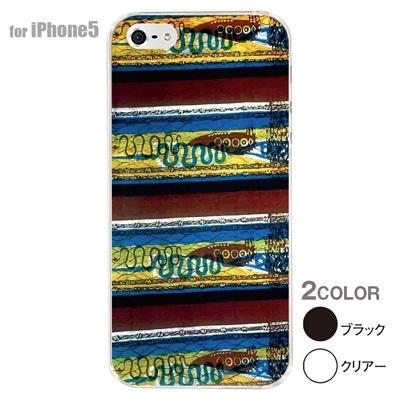 【iPhone5S】【iPhone5】【アルリカン】【iPhone5ケース】【カバー】【スマホケース】【クリアケース】【その他】【アフリカン テキスタイルパターン】 01-ip5-con036の画像