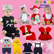 2017 New Year/christmas* 7/DEC/2016 updated 200++ baby Rompers 100% cottonbaby rompers/baby clothes/ sleep wear/ boys or girls pajamas/Jumpers/baby clothing/ kids clothes/pyjamas/