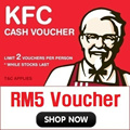 [KFC] App User Only! Limited Stocks for Superday Only (7.23~)!