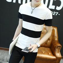 2017新品 韓国ファッション  メンズ    半袖  Tシャツ   上質 KSD203  2COLOR