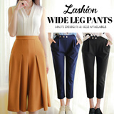 Nett Price S$12.90  Retro pant waist pants casual pants trousers wide Size S to 3XL