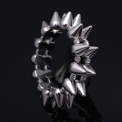 【クリックでお店のこの商品のページへ】BR56 腕輪掛けがね流行ネックレスビッグバン JYJ 骸骨バイコバイクヒップホップ男性ファッション KPOP bracelet