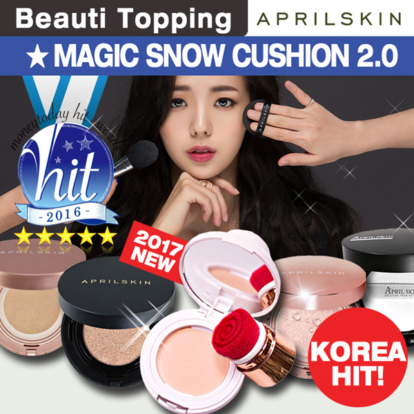 [APRILSKIN] ? Magic Snow Cushion 2.0 Deals for only S$46.62 instead of S$0
