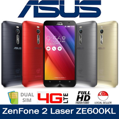 qoo10 asus zenfone 2 laser ze600kl qualcomm snapdragon. Black Bedroom Furniture Sets. Home Design Ideas