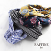 RAFFINE by(ラフィーネバイ)プリントヘアバンド【メール便送料無料】
