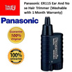 Panasonic ER115 Ear And Noise Hair Trimmer washable ! (1 Month Warranty Free)