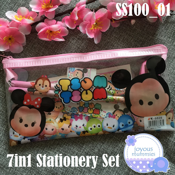 ?7in1 Stationery Set?Goodie Bags**Party Favors**Party Gifts** Ideal for Childrens Day / Birthday. Deals for only S$1.5 instead of S$0