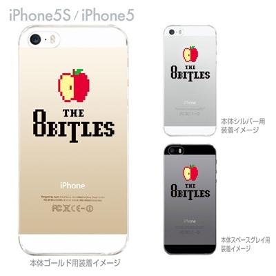 【iPhone5S】【iPhone5】【Clear Arts】【iPhone5sケース】【iPhone5ケース】【カバー】【スマホケース】【クリアケース】【クリアーアーツ】【The8bitles】 47-ip5s-tm0017の画像