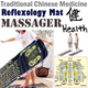 Traditional Chinese Medicine STONE MAT/FOOT reflexology massage Mat ~ WALK STONE Foot Massager at Home/Office Good for Blood circulation Health Care Foot Acupressure