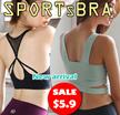 【BIG SALE 9.26-9.28】SPORTS BRA Gym Running Bra Premium Ladies Wireless bra/yoga bra/sleeping