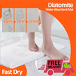 *Star Deal*Diatomite Water Absorbent Mat / Quick Fast Dry / Non Slip / Antibacterial