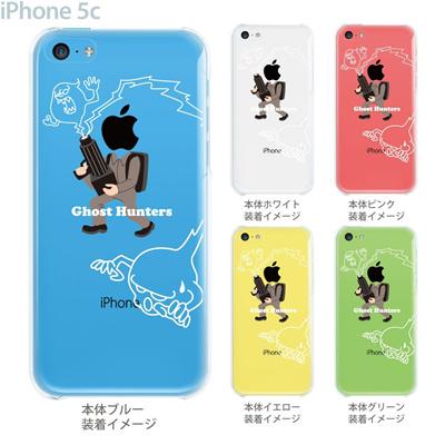 【iPhone5c】【iPhone5c ケース】【iPhone5c カバー】【ケース】【カバー】【スマホケース】【クリアケース】【クリアーアーツ】【MOVIE PARODY】【Ghost Hunteras】 10-ip5c-ca0049の画像