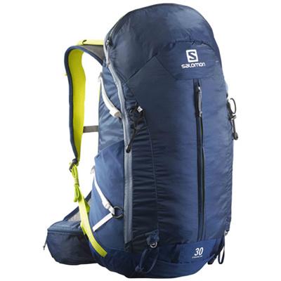 サロモン(SALOMON) シナプスフロー オールウェザー(SYNAPSE FLOW) 30 AW Midnight Blue L37160900 【アウトドア スポーツ 鞄 バックパック バッグ】の画像