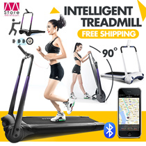 【Free shipping!! Tax is on ours!!!】APP Control!!!Fast Folding! XQIAO Smart Treadmill / Intelligent Treadmill / Exercise Equipment / Mini Electric Mute / Real View Simulation / 4 Layers Non-slip 【M18】