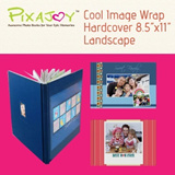 Cool Image Wrap Hardcover 8.5 inch X 11 inch Landscape / 40page