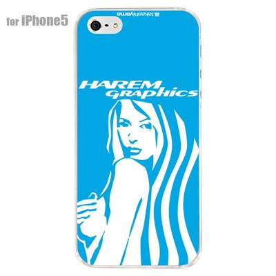 【iPhone5S】【iPhone5】【HAREM graphics】【iPhone5ケース】【カバー】【スマホケース】【クリアケース】 HGX-IP5C-019Cの画像