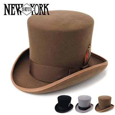 ニューヨークハット New York Hat マッドハッターハット/シルクハット Mad Hatter Hat 5009の画像