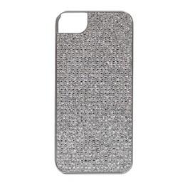 【クリックでお店のこの商品のページへ】icover iPhone5用ケース COMBI CRYSTALシリ―ズ シルバー AS-IP5CT-SLSL