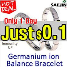 [SAEJINART] ☆Germanium ion Balance bracelet 99.9% Germanium negative ion healthy bracelet /