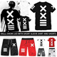 T60 FREE SHIPPING!XXlll Japanese hip hop PYREX 23/HBA short sleeved T-shirt/short pants/